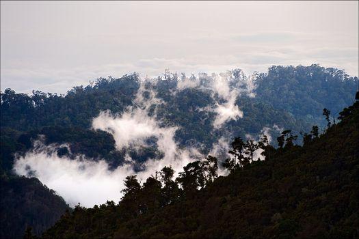 Mountains Costa Rica at a dawn. 5