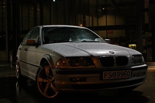 BMW nightshot