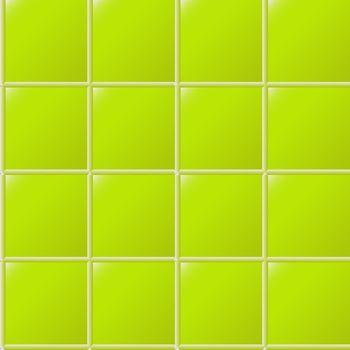 green ceramics seamless pattern