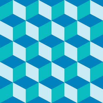 psychedelic pattern mixed blue