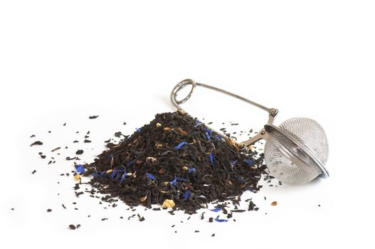 Scented tea and tea ball