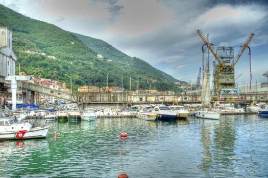 The hobor at Castellammare di Stabia