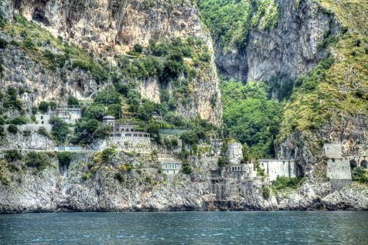 Amalfi Coast in HDR