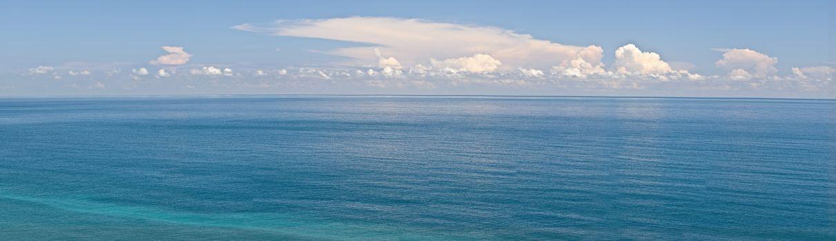 Panoramic seascape