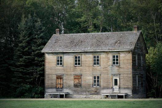 Big haunted house