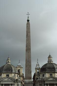Oblisk at Piazza del Popolo
