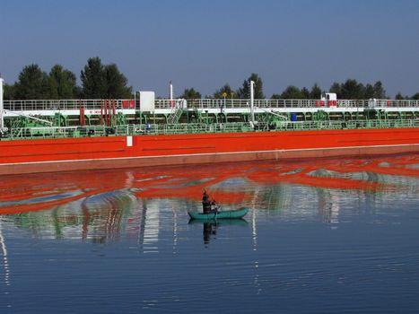 Red oil tanker 2