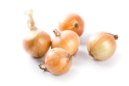 five fresh onions
