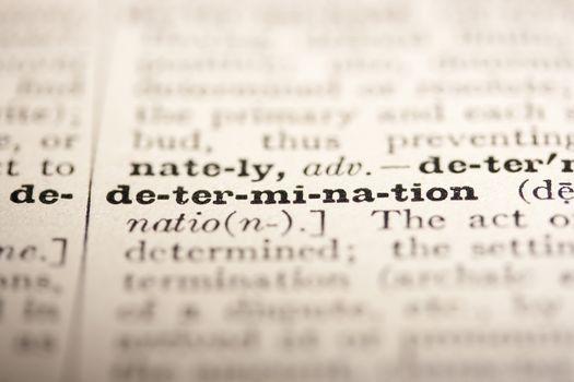 Word determination