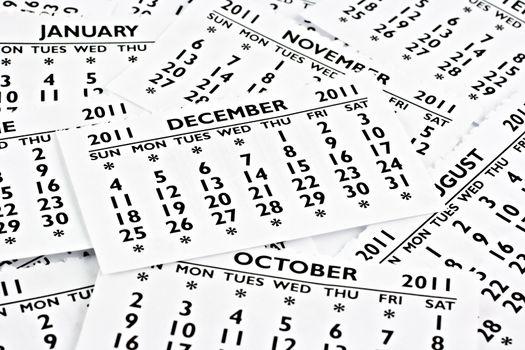December 2011 - Calendar.