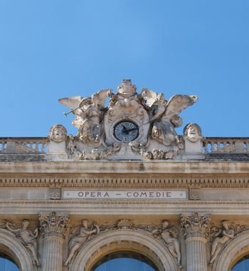 Theatre roof in Montpellier