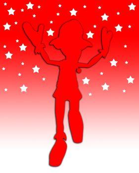 Toon Elf Jump