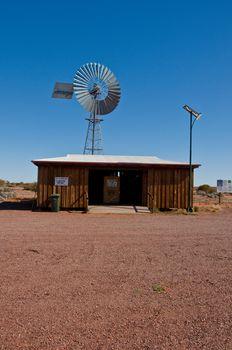 windmill in the australian outback, northen australian