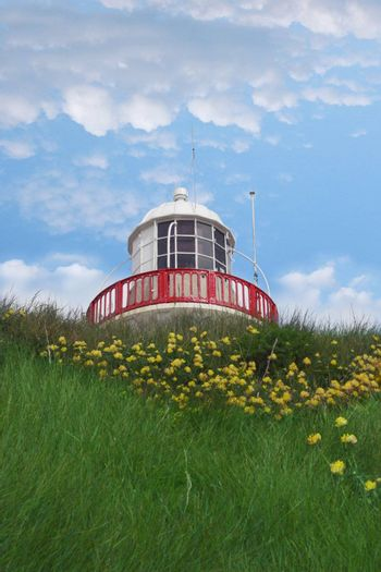 lighthouse in youghal cork ireland