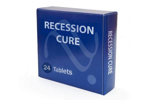 Recession help concept.