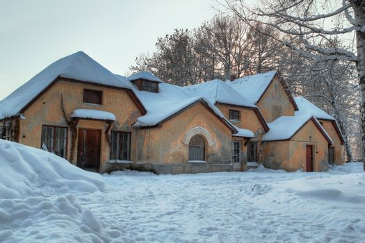 7 gnome House In Winter