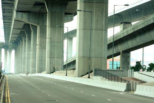 Empty freeway
