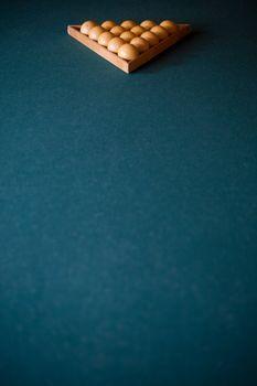Billiards triangle