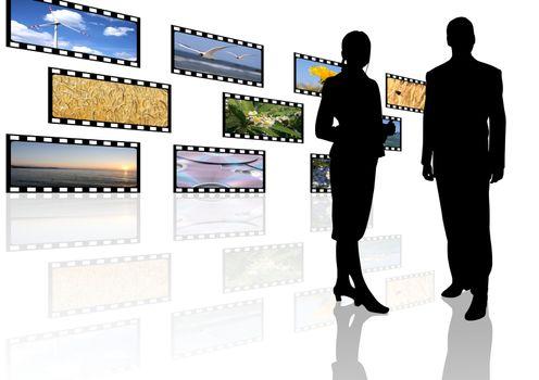 multimedia center business presentation