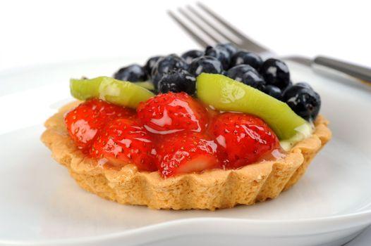Delicious Glazed Fruit Tart