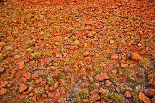 red stones at Kata Tjuta, australian red center
