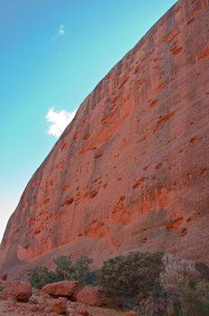 the rock of Kata Tjuta, australian red center