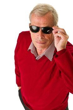 Senior with shades