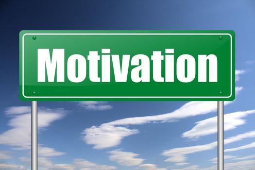 motivation traffic sign