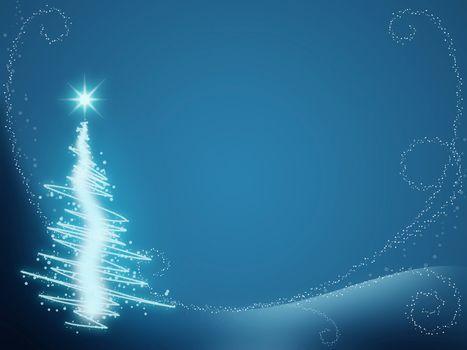 Merry christmas greeting card. Christmas concept