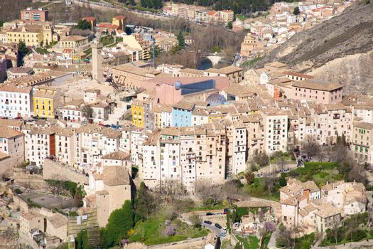 typical hanging houses of Cuenca