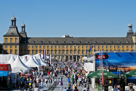 German Day of Unity, Bonn, photo taken on the 1st of October 2011