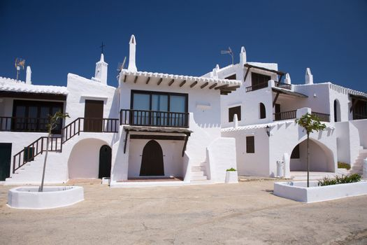typical houses at Menorca