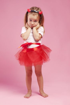 Child wearing halloween costume