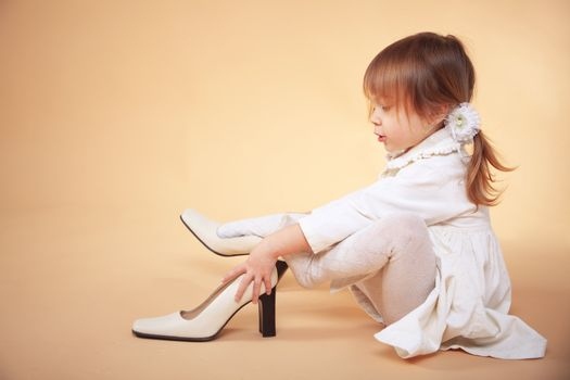 Little girl girl