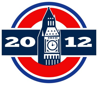 London Big Ben Clock Tower2012