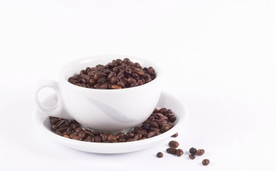 coffe; coffee; cup; beans; brown; morning; simple; background; isolated; white; color; full; business; drink; meeting; break; pause; taste; start; power; energy; food; nutrition; closeup; addiction; brew; cappuccino; cuisine; java; espresso; mug; ground; bar; cafe; boost; day; black; leisure; smell; aroma; brewed; flavor; wake; columbia; roasted; grain; italy; italian; seeds; stimulant