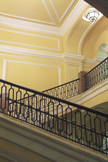 Staircase in an old building.