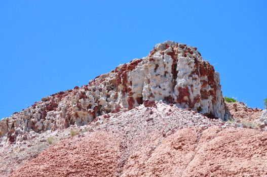 Amazing Rock formation in the Hallett Cove Conservation Park, South Australia.