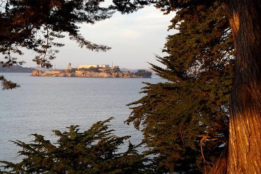 View of Alcatraz Island Museum