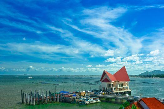 Siracha harbor,at Chonburi Thailand