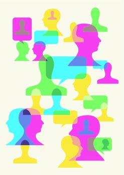 social interaction symbols