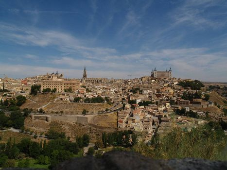 View on the city of Toledo, Spain