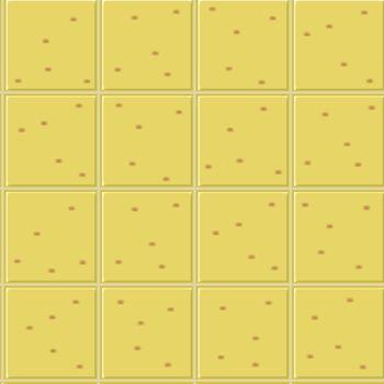 yellow ceramics seamless pattern