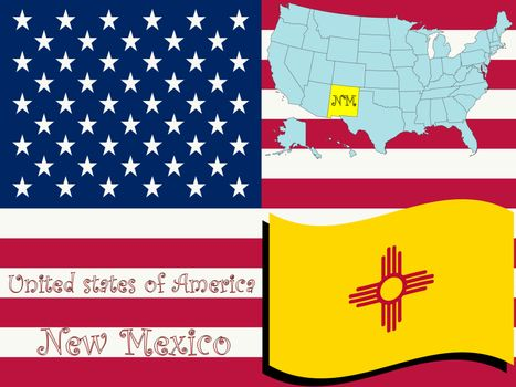 new mexico state illustration