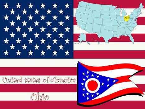 ohio state illustration