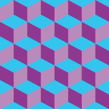 psychedelic pattern mixed purple and blue