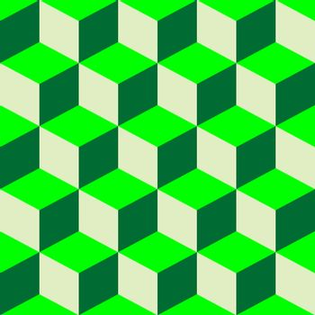 psychedelic pattern, mixed green
