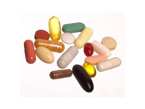 The many pills and tablets