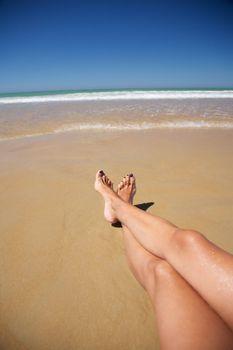 pleasure at Conil beach