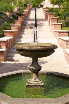 arab ancient fountain